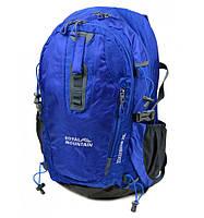 Рюкзак нейлон Royal Mountain  35 литров синий (1465-22)