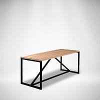 Журнальный стол LNK loft из натурального дерева 1200*450*450, фото 1