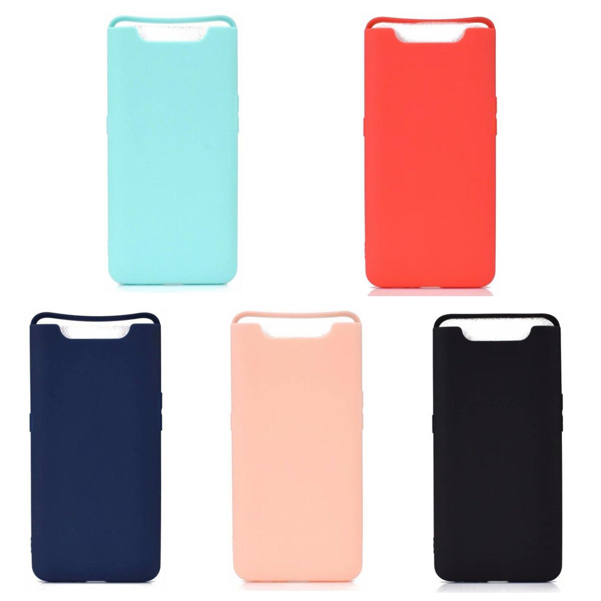 TPU чехол Candy для Samsung Galaxy A80 2019 A805 (Разные цвета)