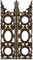 Царские врата барочные для иконостаса, фото 1