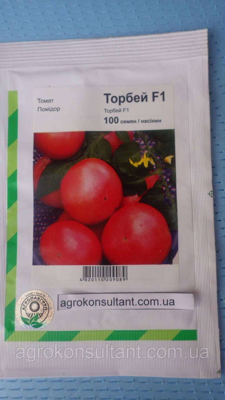 Насіння томату Торбей F1 (Бейо / Bejo / АГРОПАК +) 100 сем - середньоранній (70-75 днів), рожевий, детермин, кру