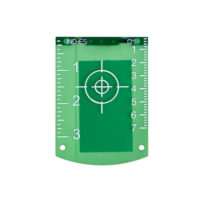Магнитная лазерная мишень (рефлектор) зеленая MG107