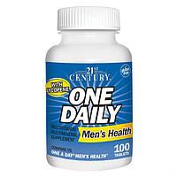 Вітаміни і мінерали для чоловіків 21st Century One Daily Men's Health 100 Tabs