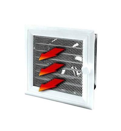 Жаростойкий вентилятор для терморукава 17х17 см Ø125, фото 2