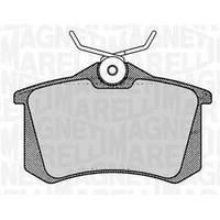 Колодки задние тормозные Renault Clio 3 (Bosch 0986466683)