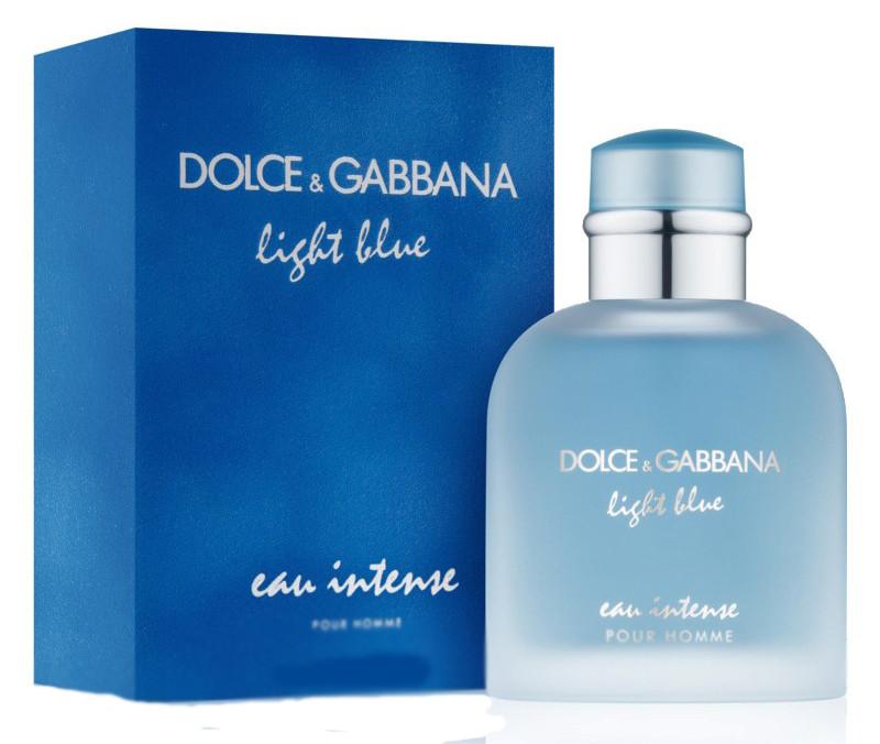 Мужская парюфмированная вода Dolce & Gabbana Light Blue Eau Intense, 125 мл