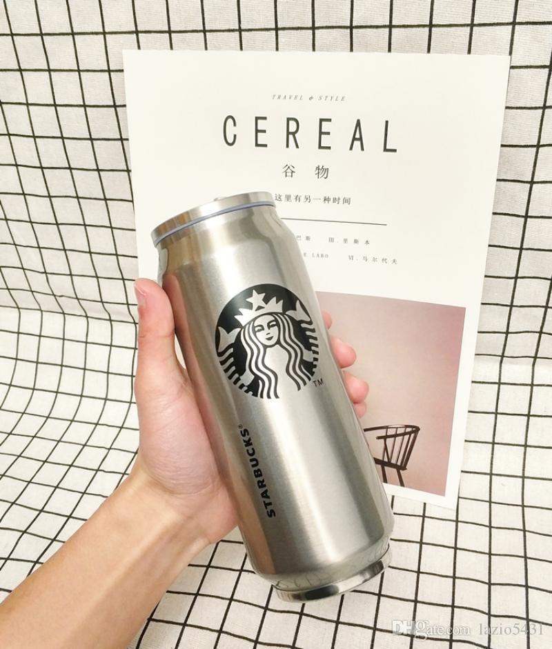 """Термостакан """"Starbucks"""", срібний, 500 мл, Термостакан металический """"Starbucks"""""""