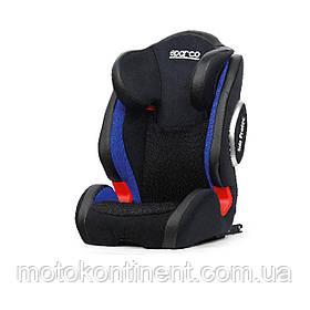 Детское Автокресло  для детей от 4-х до 12-ти лет (весом от 15 до 36 кг) ISOFIX SPARCO F1000KI G23 PREMIUM