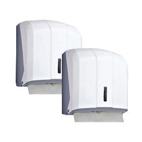 Тримач для паперових рушників V-складання білий пластиковий PRO Service