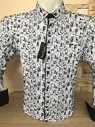 Батальная рубашка Paul Smith  стрейч-велюр