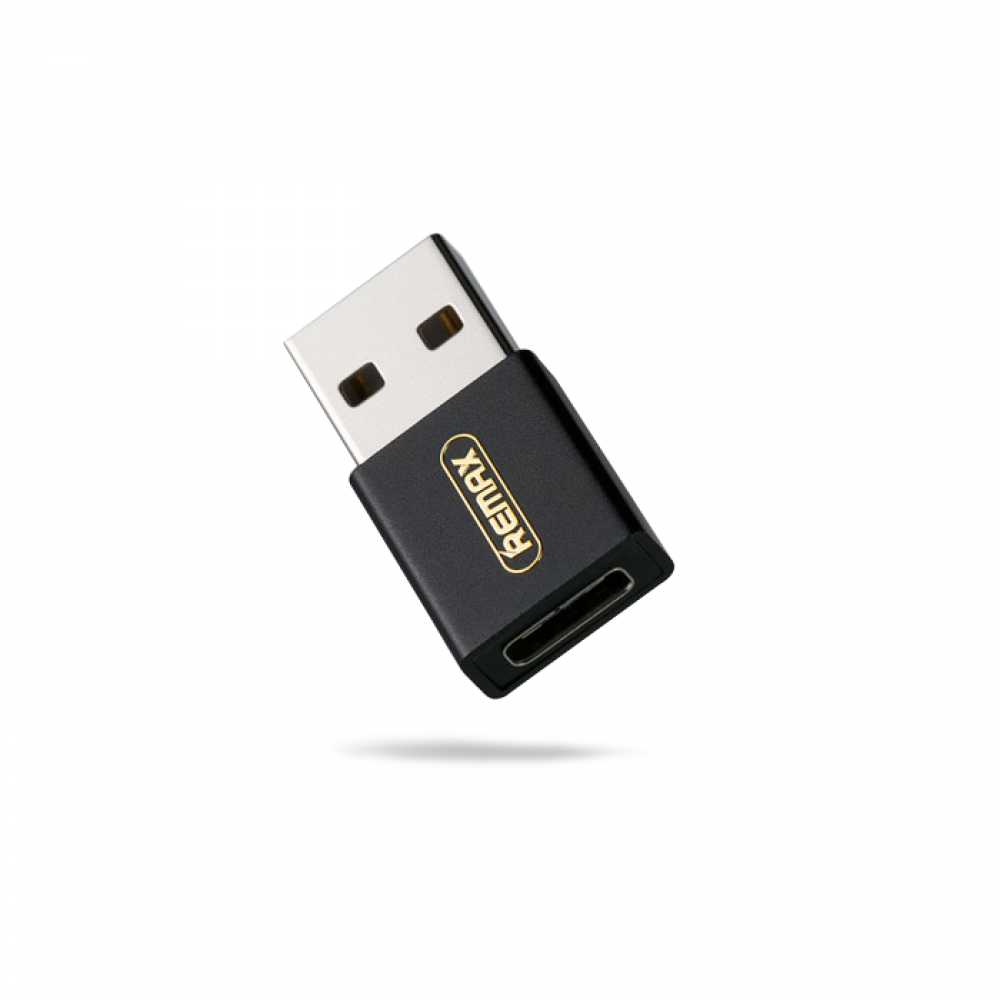 Переходник Remax Joymove RA-USB3 Type-C(Female) to USB(Male) Black