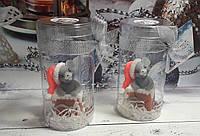 Сувенирное мыло ручной работы Мышка в дымоходе (в тубусе)