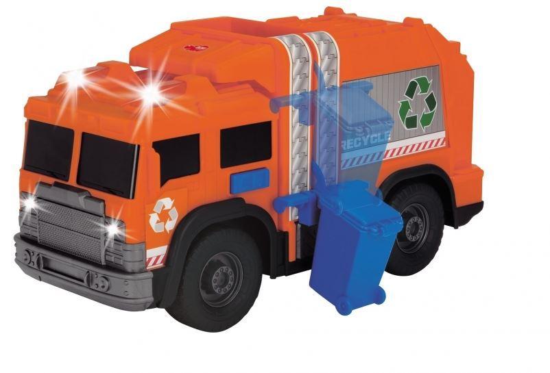 Машинка Dickie Toys Мусоровоз с баком со световыми и звуковыми эффектами 3306001