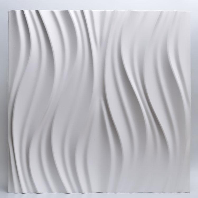 Декоративные гипсовые 3D панели Gipster «Лотос»