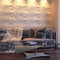 Декоративные гипсовые 3D панели Gipster «Квадраты», фото 1