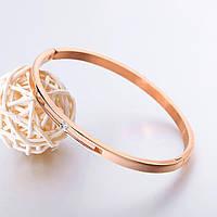 Позолоченный женский браслет «Minimal»