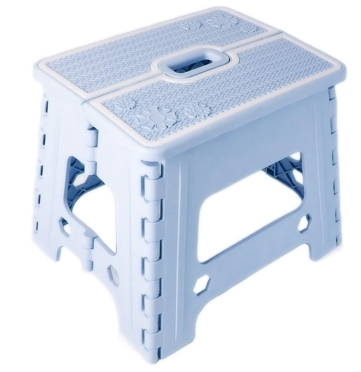 Стілець розкладний Stenson R87944 30х25х25 см, синій
