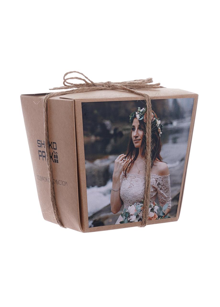 Шоколадный набор с фото Shokopack Хеппи моментс 20 шк Молочный