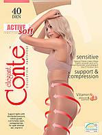 Колготки с моделирующим эффектом Conte ACTIVE SOFT Sensitive
