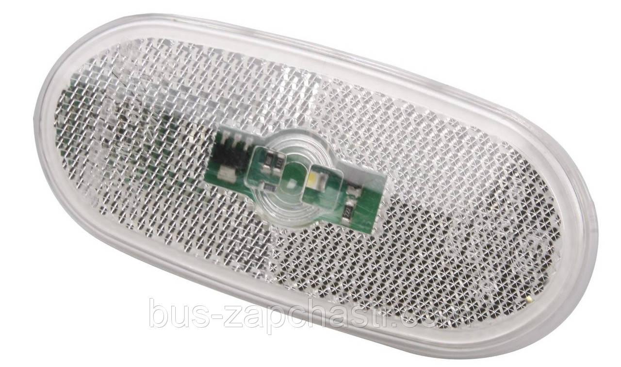 Фонарь боковой (габарит) на MB Sprinter 906, VW Crafter 2006→ (белый / LED) — Rotweiss (Турция) — 0038202956