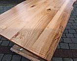 Деревянная столешница для стола Лофт живой край массив дерева, фото 5