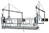 Строительная фасадная люлька ZLP-630 ( 6х50м ), фото 3