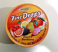 Леденцы Fine Drops мультифрукт 200 г