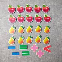 Магнитная математика Яблоки и груши, фото 1