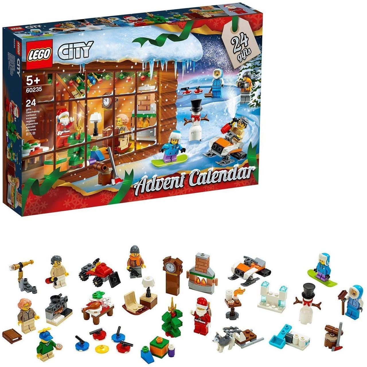 Lego City Новогодний календарь 2020 Лего Сити 60235 ( Лего Сіті Новорічний Адвент Календар 2020 )
