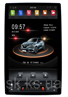 "Junsun 4G универсальная Android автомагнитола Tesla Style 12,8"""