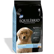 Сухий корм для цуценят великих порід Equilibrio Puppies Large Breeds 15 кг