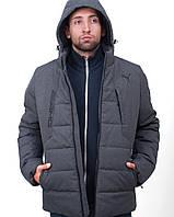 Куртка мужская зимняя в стиле Puma Х AMG antracit до -25°С   куртка мужская зимняя