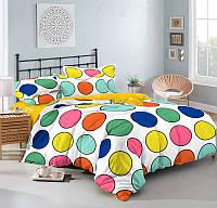 Комплект постельного белья полуторный сатин, 100% хлопок. (арт.9446)