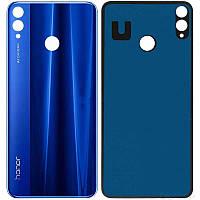 Задняя крышка Huawei Honor 8X, синяя, Оригинал