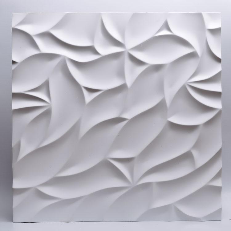 Декоративные гипсовые 3D панели Gipster «Листва»