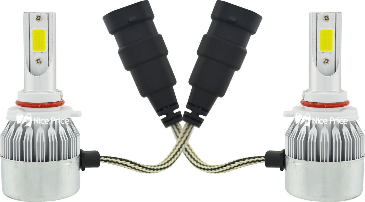 Комплект автомобильных LED ламп C6 в туманки 9005 (5542)