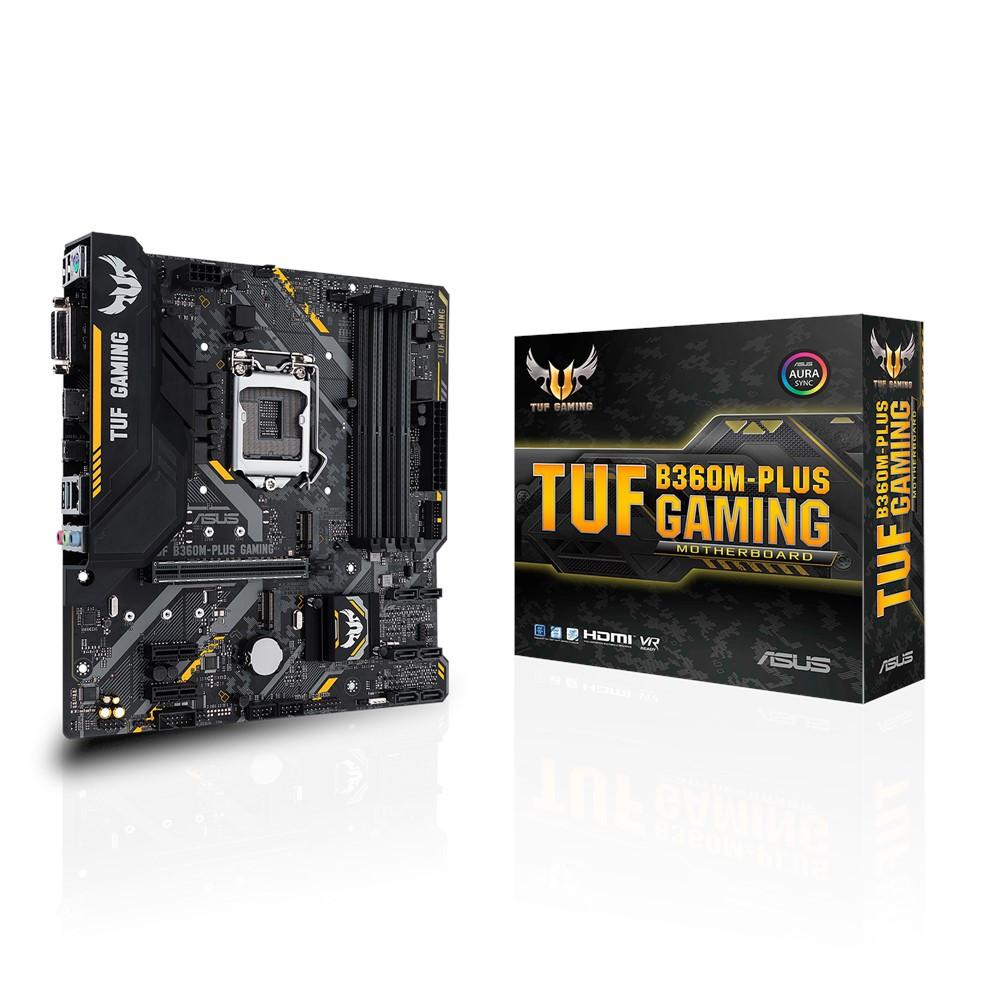 Материнская плата ASUS TUF B360M-Plus Gaming (s1151/B360/DDR4)