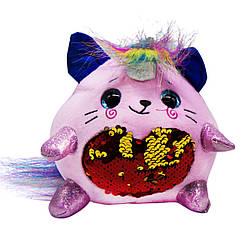 Мягкая игрушка Сказочное существо M2791 розовая