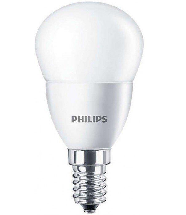 Светодиодная лампа LED ESS LEDLustre 5.5-60W E14 827 P48NDFR RCA Philips (теплый белый)