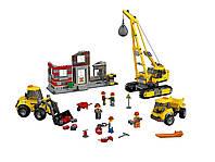 Конструктор Снос старого здания (строительная техника) (Lepin 02042)