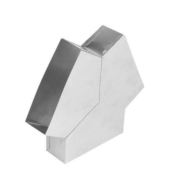 Тройник для плоских каналов Y-образный