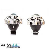 """Автомобильные биксеноновые линзы Blu-ray Q5D2 3"""" под лампу D2S (ближний+дальний свет)"""