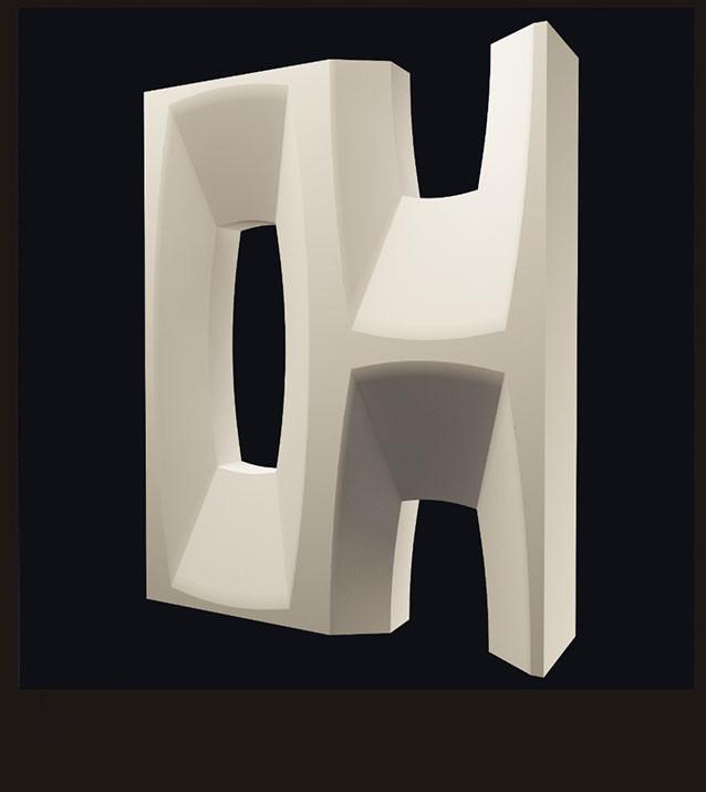 Гипсовые  3D перегородки «Аполло»