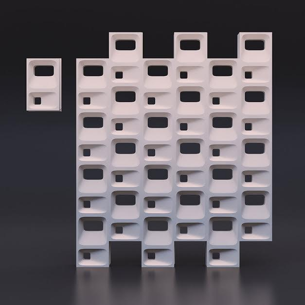 Гипсовые 3D перегородки «Куб»