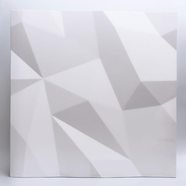 Декоративные гипсовые 3D панели Gipster «Кристалы»