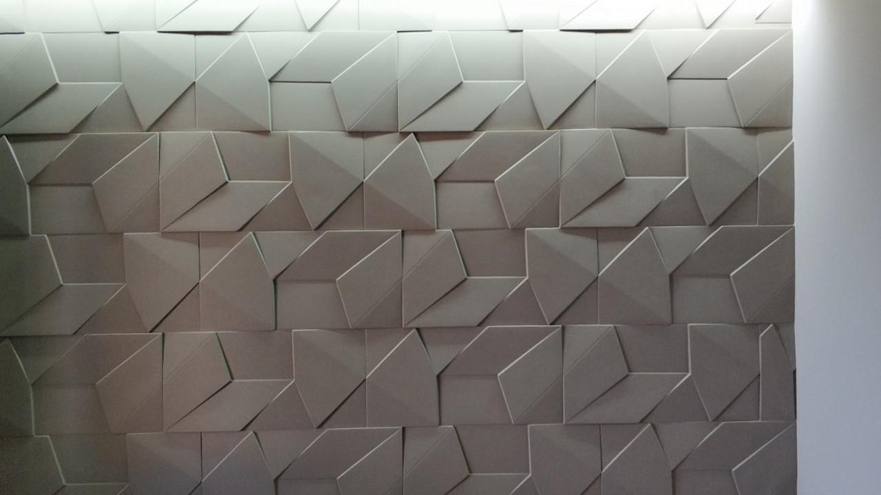 Декоративные гипсовые 3D панели Gipster «Скала Большая»