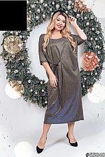 Шикарное новогоднее нарядное платье размеры: 48-62, фото 3