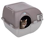 Туалет для кошек Rolln Clean Omega Paw Серо-коричневый, фото 2