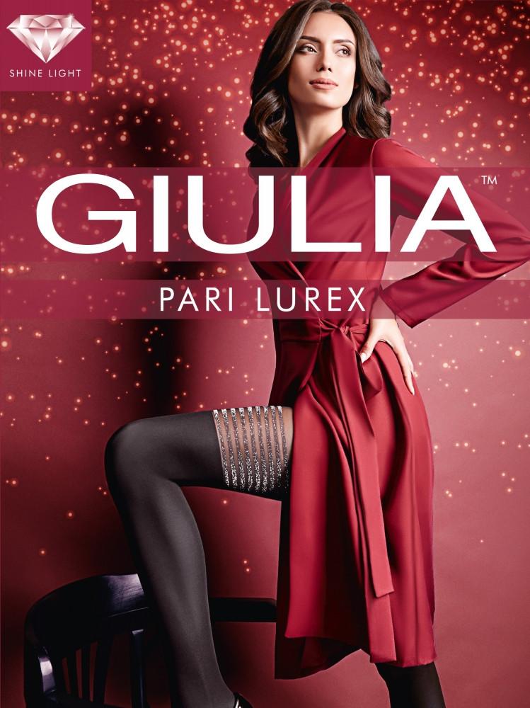 Фантазийные матовые колготки Giulia Pari Lurex 60 den