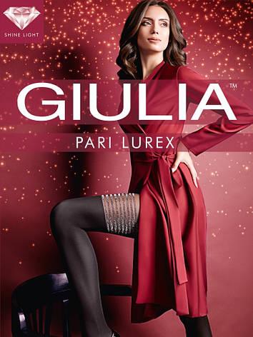 Фантазийные матовые колготки Giulia Pari Lurex 60 den, фото 2